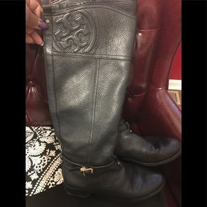 Tory Burch Leather Riding Boots - Love Comfort